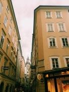Each street in Salzburg...