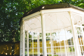 "The gazebo used to film the iconic ""Sixteen Going on Seventeen"" scene!"