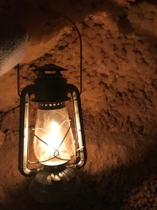 Jewel Cave by lantern light