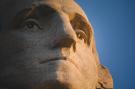 George Washington at Mount Rushmore