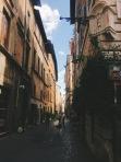 Trastevere neighborhood of Rome   September 9, 2017