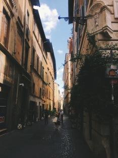 Trastevere neighborhood of Rome | September 9, 2017