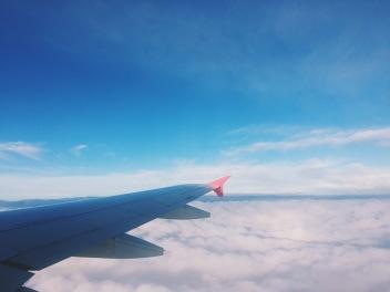 Flying back to Copenhagen from Rome | September 10, 2017
