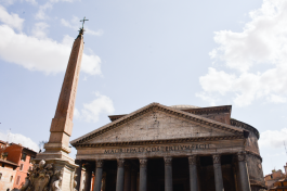 Pantheon (the first time I was here, I saw Tom Hanks!)
