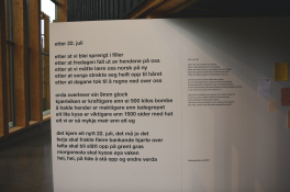 A poem written in the aftermath of the attack