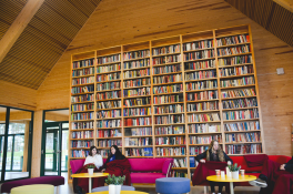 The newly constructed library