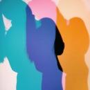 A fun shadow wall that's part of Viviane Sassen's UMBRA exhibition