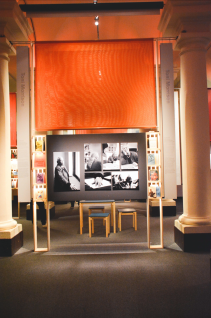 "The ""Literary Rebellion"" exhibit at the museum"