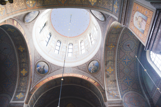 The decorations and ornamentation are absolutely breathtaking!