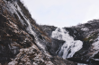 We stopped at this beautiful waterfall on the way from Flåm to Myrdal!