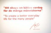 The IKEA motto