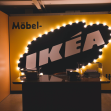 One of the original IKEA logos